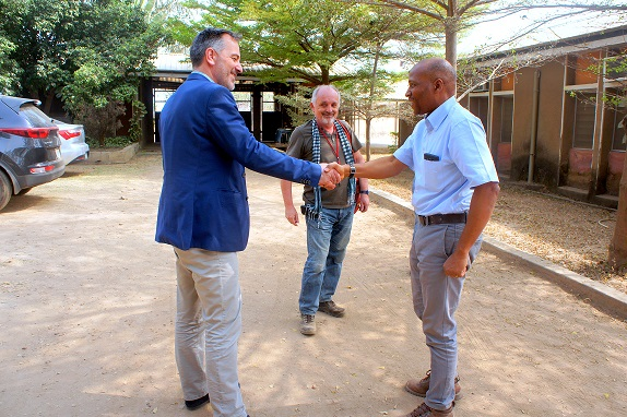 Familiarization Visit: GIZ's New Head Of Technical Vocational Education Training (TVET) Programmes visits Fuller
