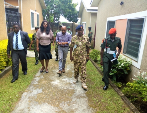 Fuller Hosts Nigeria Army Post Service Housing Scheme