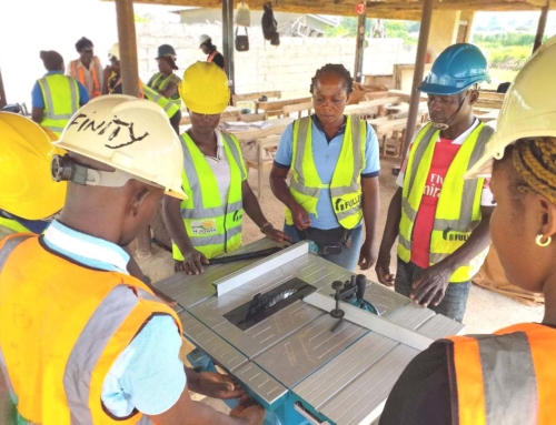 MFF COMPLETES 2ND ROUND OF POWER TOOLS TRAINING