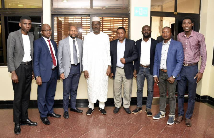 Fuller Pays a Working Visit to FMBN MD and Top Management